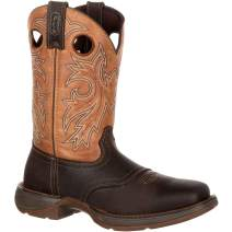 Durango Rebel Men's Steel Toe Waterproof Western Boot-DB019 (M8) Brown