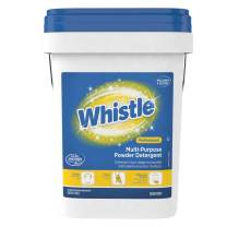 Diversey Whistle Multi-Purpose Powder Bulk Laundry Detergent (HE), Fresh Citrus Scent, 19 lb. Pail (CBD95729888)