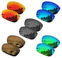 SmartVLT Set of 5 Men's Replacement Lenses for Oakley Ten X Sunglass Combo Pack S02