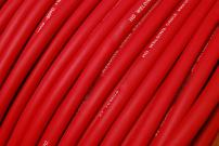 TEMCo WC0157-250 ft 4 Gauge AWG Welding Lead & Car Battery Cable Copper Wire RED | MADE IN USA