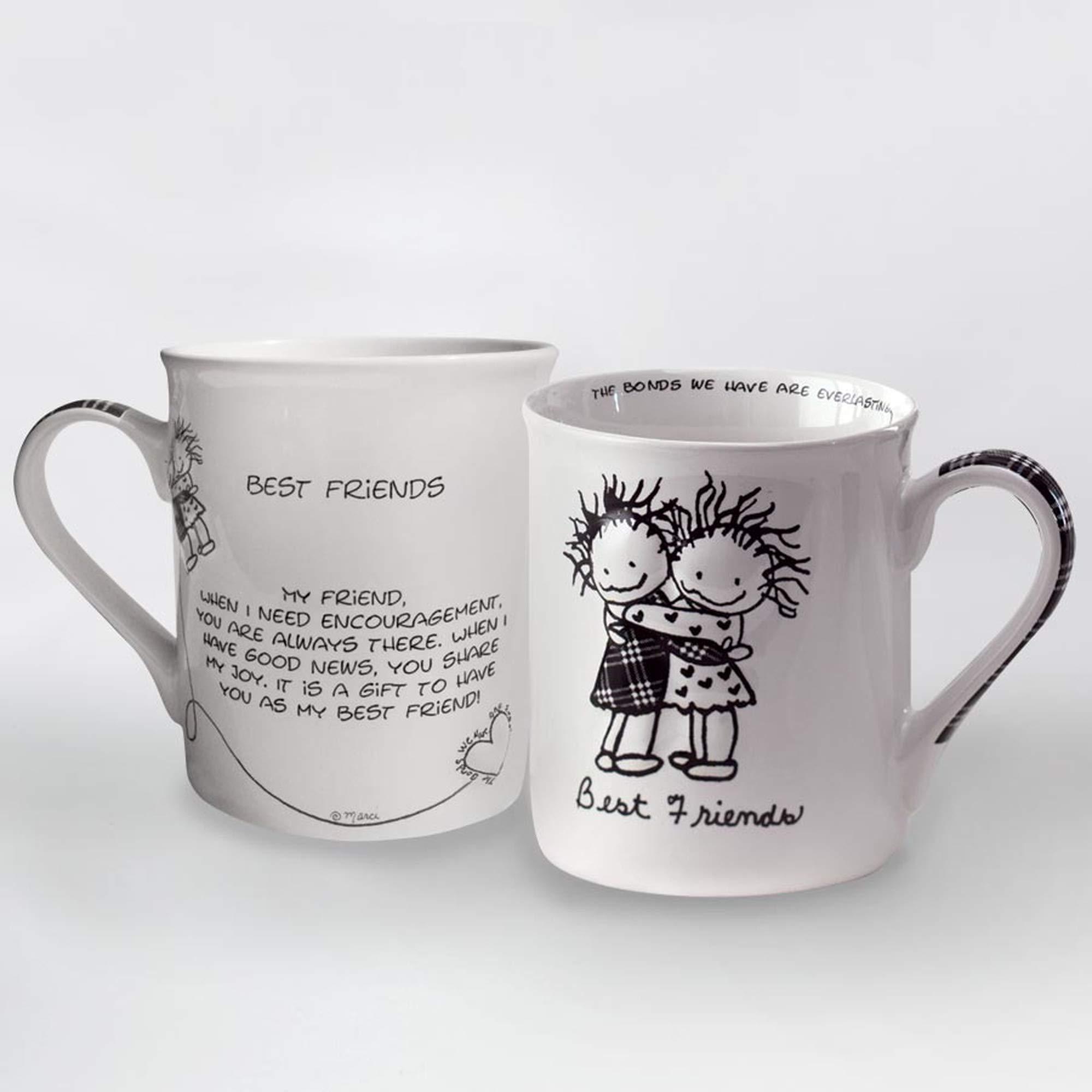 Enesco Stoneware Gift Mug, STD, Multicolor