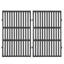 "VICOOL 19.5"" x 13"" 7524 Cast Iron Grates Grill Cooking Grid Replacement for Weber Genesis E-310, E-320, Genesis S-310, S-320, Genesis EP-310, 7528"