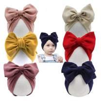 Yili Maizi Baby Turban Newborn Baby Girl Hospital Hat Cotton Toddler Nursery Beanie Headwrap Bohemia Donuts Cap