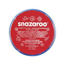 Snazaroo Classic Face and Body Paint, Bright Red, 6 Fl Oz