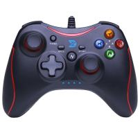 ZD-N【pro】 Wired Gaming Controller Gamepad for Nintendo Switch,Steam,TV Box PC(Win7-Win10),Android(N-Red)