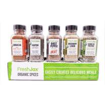 FreshJax Seasoned Sea Salts Gift Set, (Set of 5)