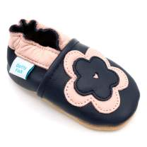 Dotty Fish Soft Leather Girls Infant Toddler Shoes.