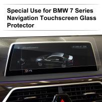 LFOTPP Tempered Glass Car Navigation Infotainment Center Touch Screen Protector for New 2016-2018 7 Series G11 G12 Screen