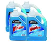SC Johnson Professional WINDEX Glass & Surface Cleaner With Ammonia-D, 1 gallon (Pack Of 4)