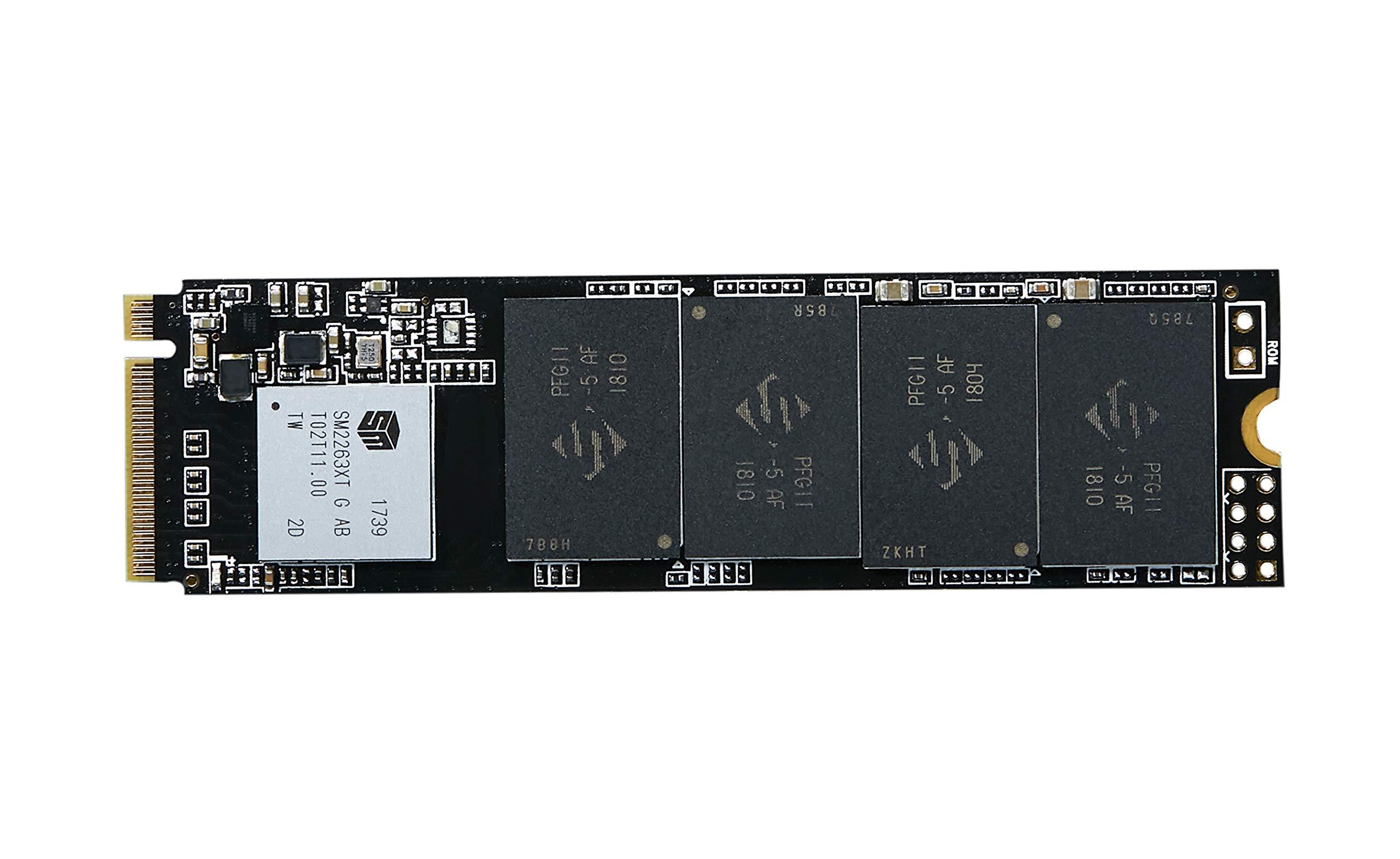 KingSpec 256GB PCIe NVMe 3D NAND Solid State Drive- M.2 Internal SSD (NE-256 2280) …