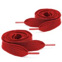 Mercury + Maia Extra Wide Shoelaces - Flat Athletic Fat Shoelaces - Stay Tied - Made in the USA
