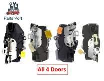 Power Door Lock Actuator/Door Lock Latch for 08-14 CADILLAC CHEVROLET GMC (Set of 4 Locks) 72111S-4