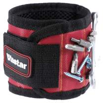 Vastar Magnetic Wristband - 5 Powerful Magnets for Holding Screws, Nails, Bolts, Drill Bits, Fasteners, Scissors, and Other Small Tools