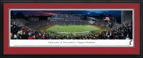 University Of Cincinnati Bearcats Night Football - 50 Yard Line Panoramic Print