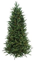 7.5' Pre-Lit Mixed Pine Multi-Function Remote Control Artificial Christmas Tree - Multi-Color Lights