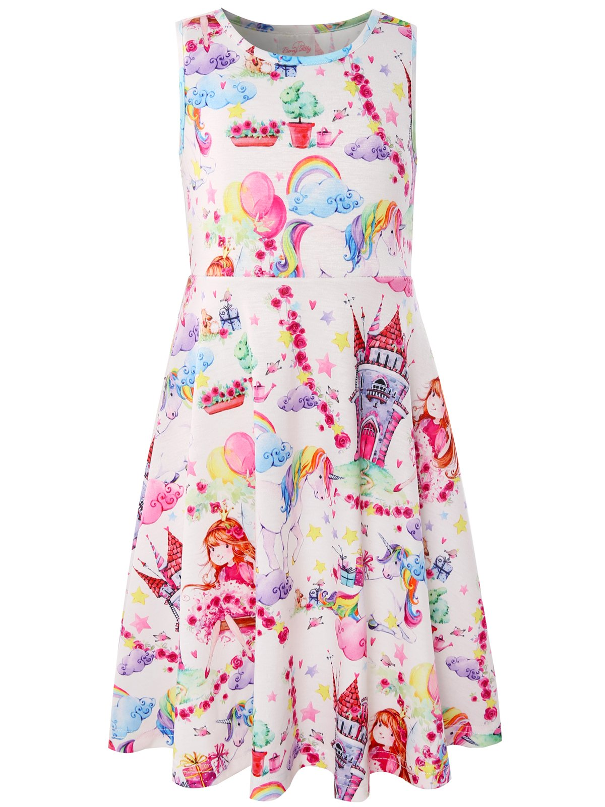 Bonny Billy Girl's Cacual Summer Tank Dresses for Kids
