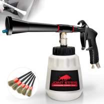JOINT STARS High Pressure Car Cleaning Gun Jet Cleaner High Pressure Cleaner Car Interior Detailing Kit High Pressure Cleaning Tool Pressure Cleaner for Car Detailing Supplies, Premium Black