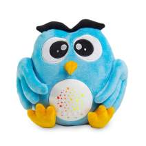 Mothermed Owl Baby Nightlight Sound Machine Toys Baby Sleep Soother White Noise Soothing Sleep Machine with Star Projector Crib Cry Sensor Shusher Sounds for Kids Toddler Sleep Aid Baby Shower Gift