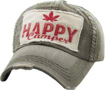 Weed Marijuana Leaf Collection Dad Hat Baseball Cap Polo Style Adjustable