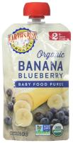 Earth's Best Organic Stage 2 Baby Food, Banana Blueberry, 4 oz. Pouch (Pack of 6)