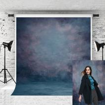 Kate 5x7ft Blue Backdrop Retro Backdrops for Photographers Portrait Background Photo Studio Props
