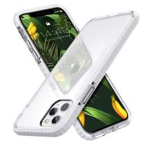 MATEPROX iPhone 11 Pro Max Case Clear Thin Slim Crystal Transparent Cover Shockproof Bumper Case for iPhone 11 Pro Max 6.5(White)