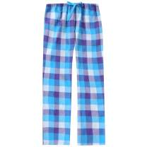 Twin Boat Plaid Pajama Pants Women - 100% Cotton Lightweight Flannel Pajama Pants