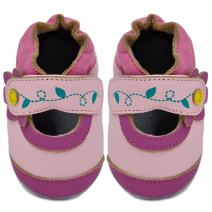 Kimi + Kai Baby Girls Lambskin Leather Soft Sole Shoes - Mary Jane