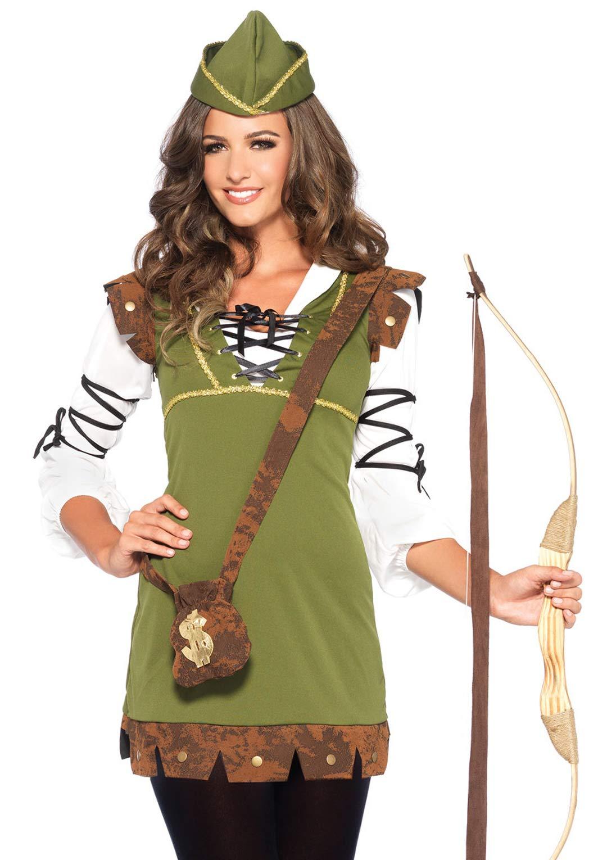 Leg Avenue Women's Classic Robin Hood Costume