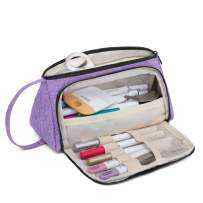 Luxja Bag for Cricut Pen Set and Basic Tools, Carrying Case for Cricut Accessories (Bag Only), Lavender