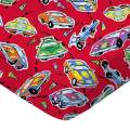 Race Cars Fitted Bassinet Sheet