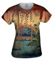 Yizzam- Japan - Kameido Tenjin Shrine -Tshirt- Womens Shirt