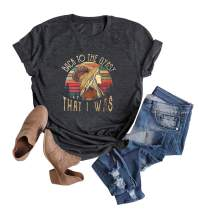 Women Stevie Nicks Vintage T Shirt Back to The Gypsy That I was Graphic Rock Music Tees Tops