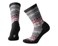 Smartwool Dazzling Wonderland Crew Socks - Women's Medium Cushioned Merino Wool Performance Socks