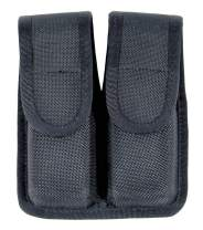 BLACKHAWK Molded Black CORDURA Double Mag Pouch - Single Row