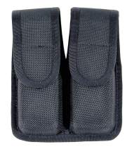 BLACKHAWK Molded Black CORDURA Double Mag Pouch - Single Row