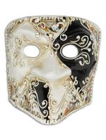 Magic of Venezia Venetian Half Face Mask Bauta for Men