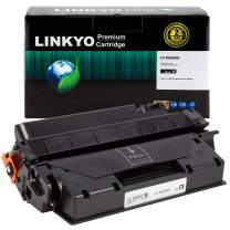 LINKYO Compatible Toner Cartridge Replacement for HP 05X CE505X (Black, High Yield)