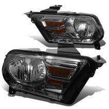 DNA Motoring HL-OH-FM10-SM-AM Headlight Assembly (Driver & Passenger Side)