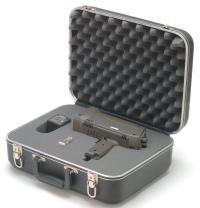Shimpo DT-725KIT Internal Battery Powered Digital Stroboscope Kit, 115V AC Charger, +/- 0.02 percent Accuracy, 40.0 - 12500 FPM Range