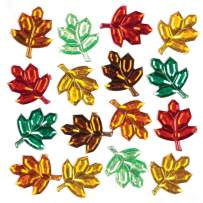 Baker Ross Leaf Self-Adhesive Acrylic Gems (Pack of 100) Fall and Winter Arts and Crafts