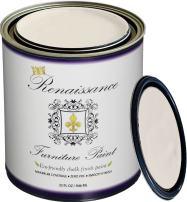 Retique It by Renaissance chalk finish furniture paint, 32 oz (Quart), Ivory Tower 02-Antique White