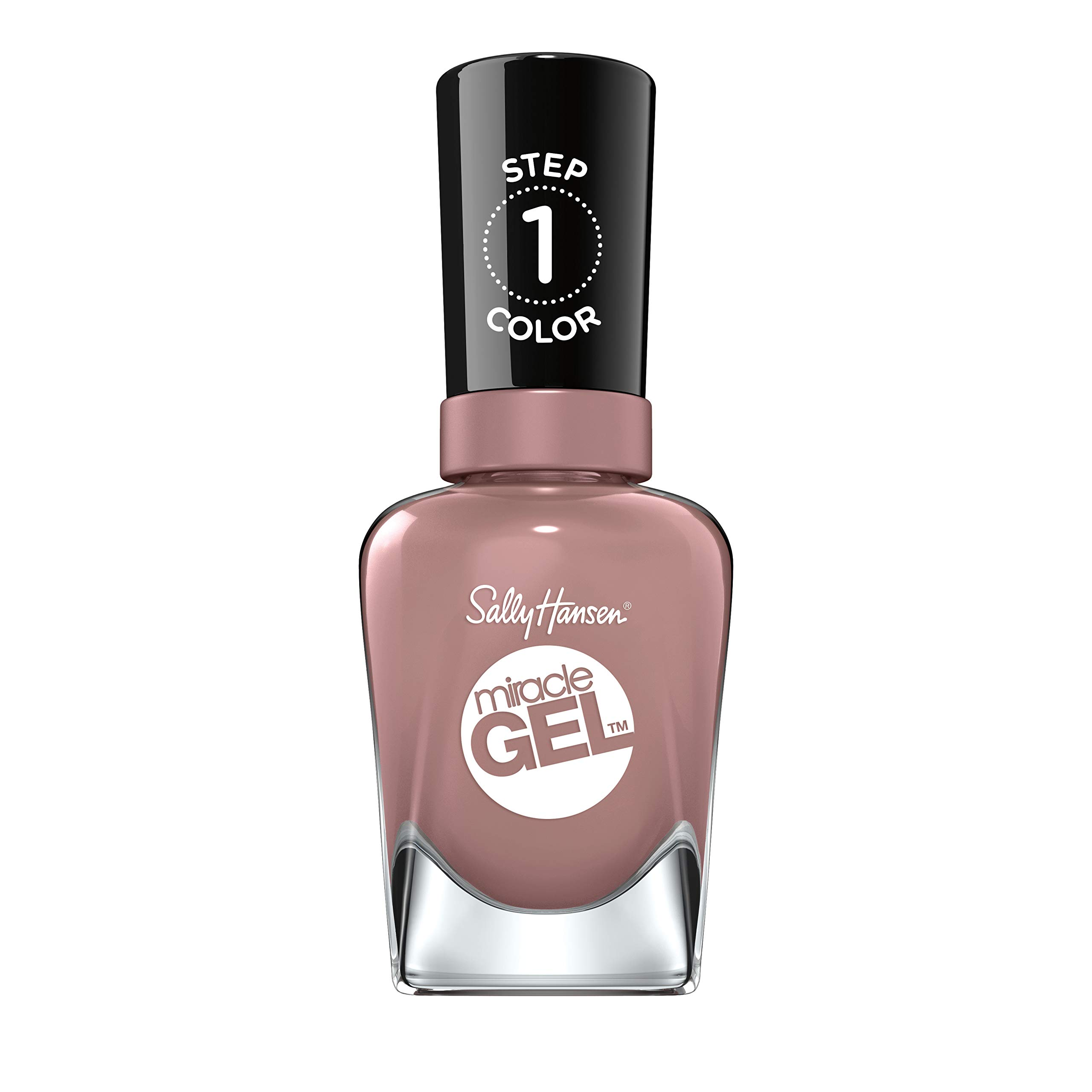 Sally Hansen Miracle Gel Nail Polish Lacquer, Love Me Lilac, 0.5 Fl. Oz.