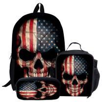 LedBack Tiger Dinosaur Wolf Designed Backpack Lightweight Travel Daypack Cool School Book Bag