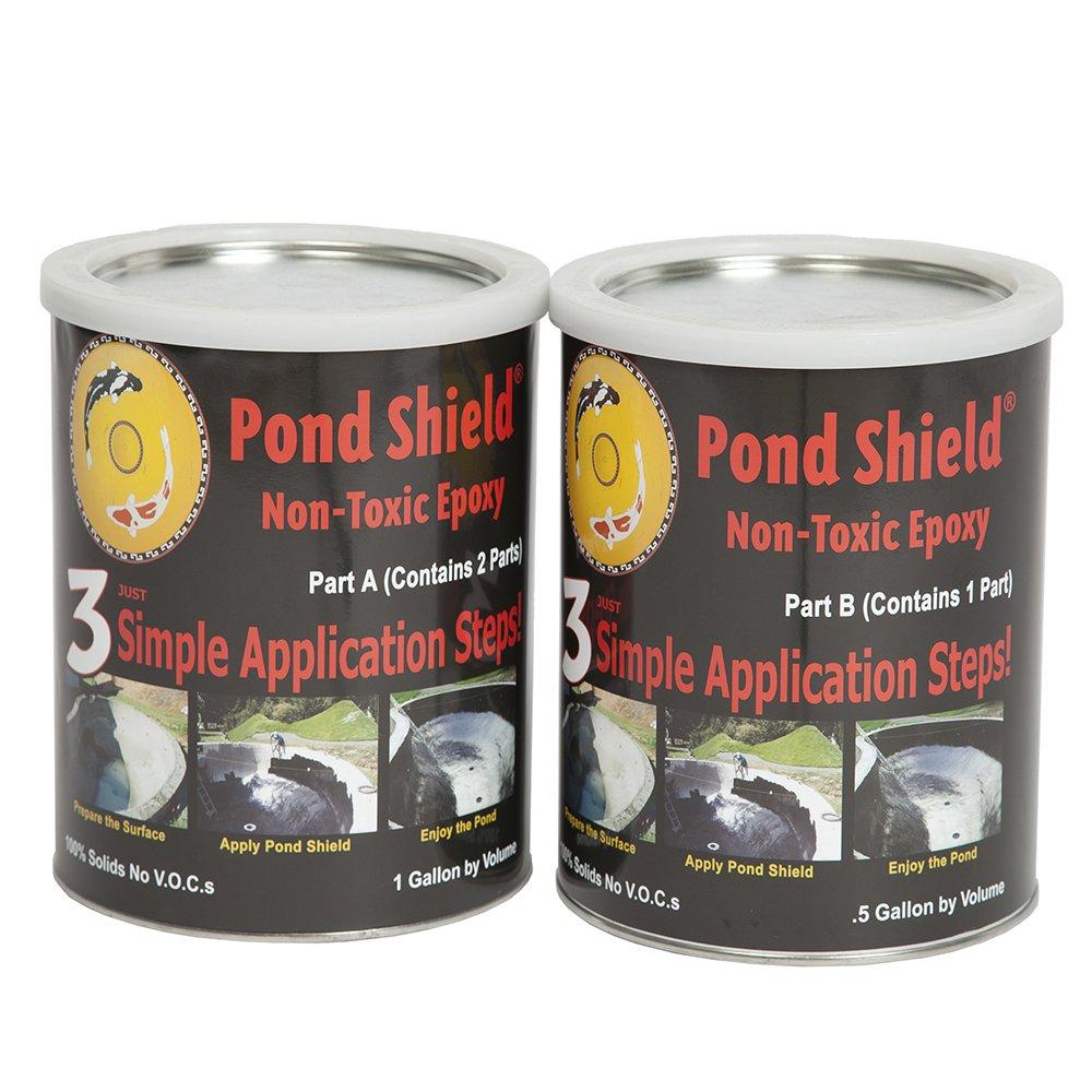 Pond Armor SKU-FGREEN-GA Non-Toxic Pond Shield Epoxy Paint, 1.5-Gallon, Forest Green