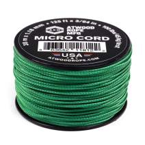 Atwood Rope MFG Micro Utility Cord 1.18mm X 125ft Reusable Spool | Tactical Nylon/Polyester Fishing Gear, Jewlery Making, Camping Accessories