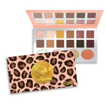 RUDE Leopardina 12 Eyeshadow + 4 Highlighter