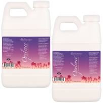 """1 Gallon of Belloccio""""Opulence"""" Ultra Premium""""DHA"""" Sunless Tanning Solution with Dark Bronzer Color Guide"""