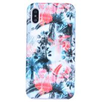 Dimaka Case for iPhone X and XS, Cute Floral Flower Design Pattern Case for Girls,Ink Painting Style 2 Layer TPU + PC Protective Slim Cover for iPhone X and XS(97, iPhone X and XS)