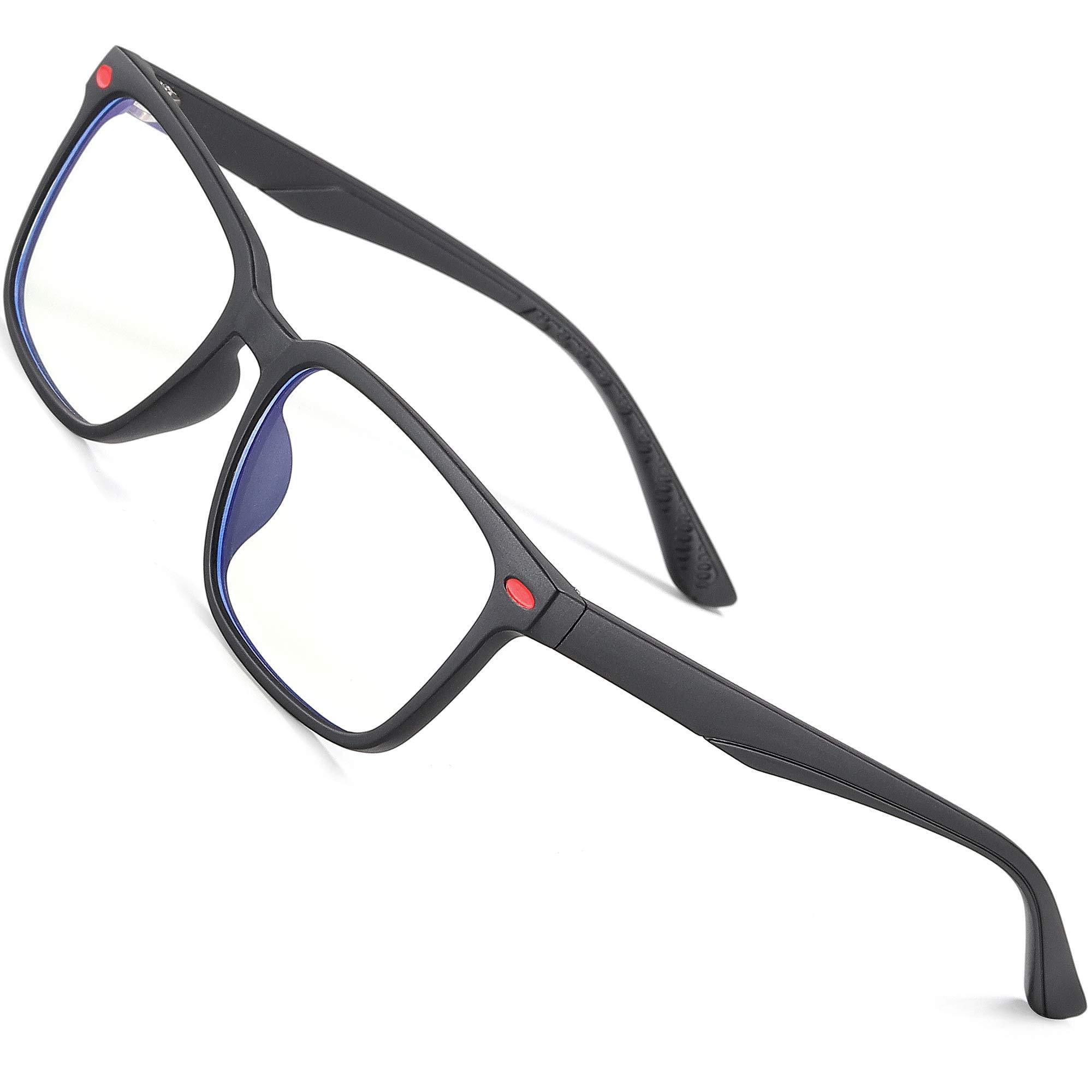 ATTCL Computer Blue Light Blocking Glasses for Kids Age 3-10 Game Glasses 5101 Black